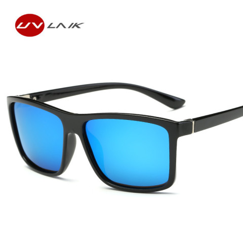 UVLAIK Men Polarized Sunglasses Brand Vintage Square Driving Movement Sun Glasses Men Driver Safety Protect UV400 Eyeglasses Karachi