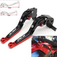 Motorcycle CNC Adjustable Foldable brake Clutch Levers for Honda PCX 125 PCX125 PCX150 PCX 150 all years with Logo PCX