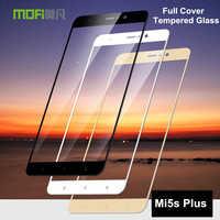 Xiaomi Mi5s Plus Glass Tempered MOFi 2 5D Full Cover Protective Film Mi 5s Plus Screen