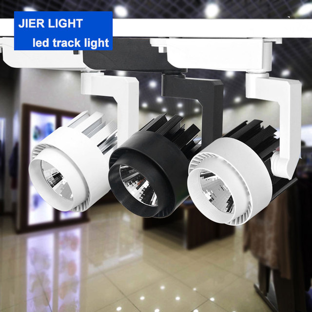 Free shipping 15W 20W 30W mini track light pendant for shop lighting