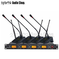 Профессиональный цифровой UHF беспроводной микрофон система приемник с 4 конференц кардиоидный передатчик набор Mic для встречи компании