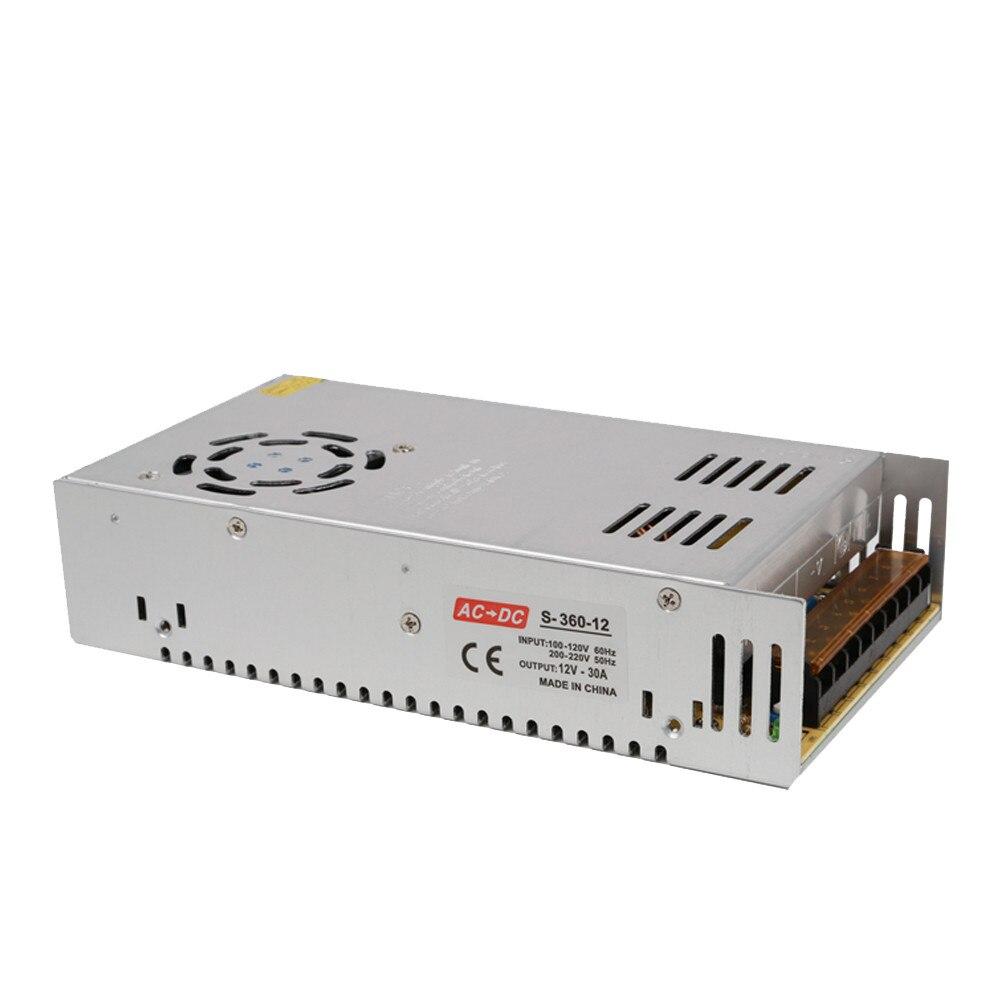 Ender 3 Power Supply 24V 15A Power Supply Driver For LED Light Strip Display 220V110V Adapter