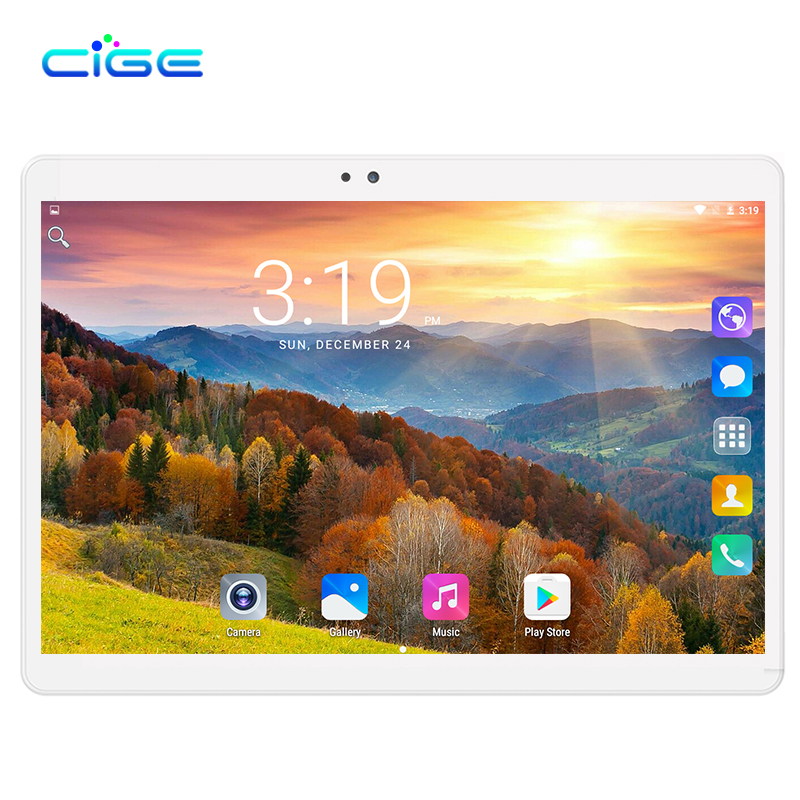 Smart Tablet PC Computer 3G Phone Call Android 7.0 Tablets Pc IPS FHD WiFi GPS Bluetooth FM Octa core Dual Camera and SIM Card russian 10 inch octa core android 5 1 tablets pc 4gb 64gb 1280 800 gps bluetooth fm 2 sim card phone call smart computer pad
