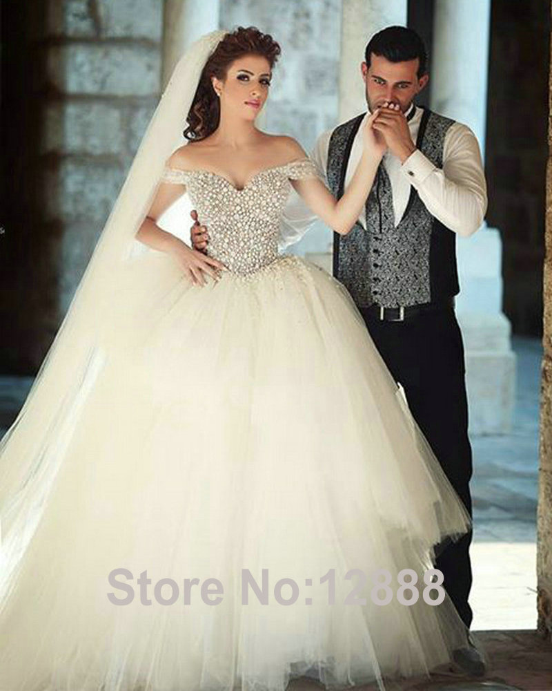 Princess Dresses Bridal Fashion Week AutumnWinter wedding princess dresses Share This Link