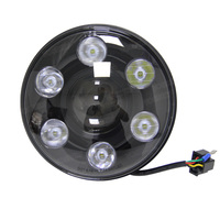 7 дюймов 105 Вт круглый светодиодные фары с DRL высокого ближнего света LED чип для Jeep Wrangler JK/TJ /lj/CJ Hummer Harley