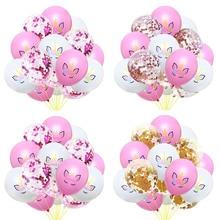 Unicorn Confetti Sequin Balloons Birthday Party decoration Kids Rainbow Baby Shower Wedding Supplies