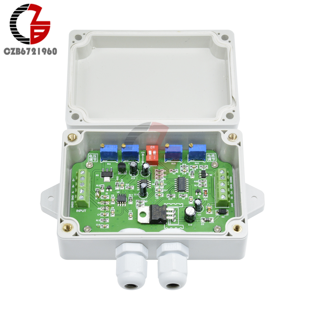 Weighing Transmitter Load Cell Amplifier Weight Sensor Amplifier Load Cell Transducer DC 12V 24V 4-20ma