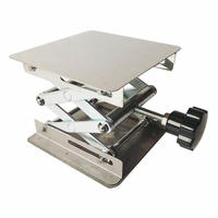 1 Piece/lot 150x150x250mm Stainless steel lifting platform, Raising Platform Lifting Table for Laboratory use