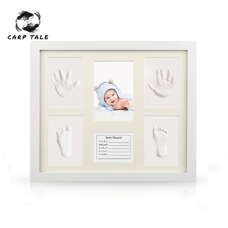 Non-Toxic Newborn Handprint Footprint Baby Souvenirs Casting Imprint Kit Infant Footprint Ink Pad Foot Print Pad Baby Care