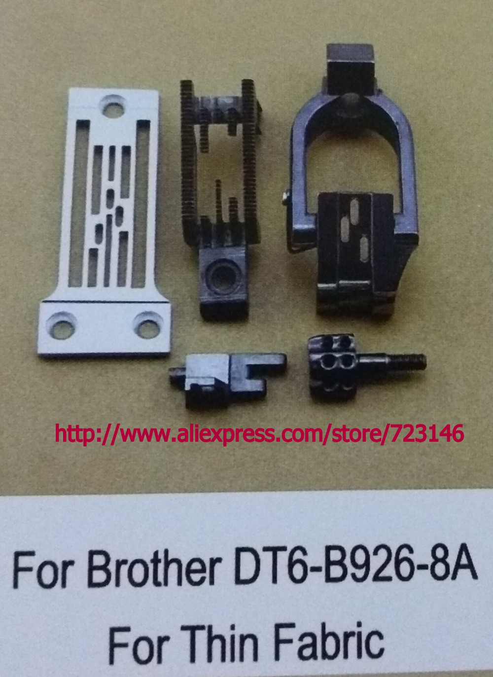GAUGE SET for Brother DT6 B926 8B THIN FABRIC INDUSTRIAL SEWING MACHINE