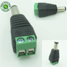 5pcs male Connector Plugs Jack For 5050 / 3528 SMD LED Strip sigle color Light DC Power Supply AC Adapter Plug Cable стоимость