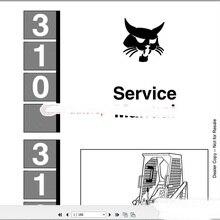 Bobcat полный комплект руководство по эксплуатации