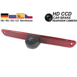 Автомобильный стоп-сигнал, камера заднего хода, CCD, камера заднего вида для Volkswagen VW Crafter, Mercedes Benz, Sprinter, ночное видение