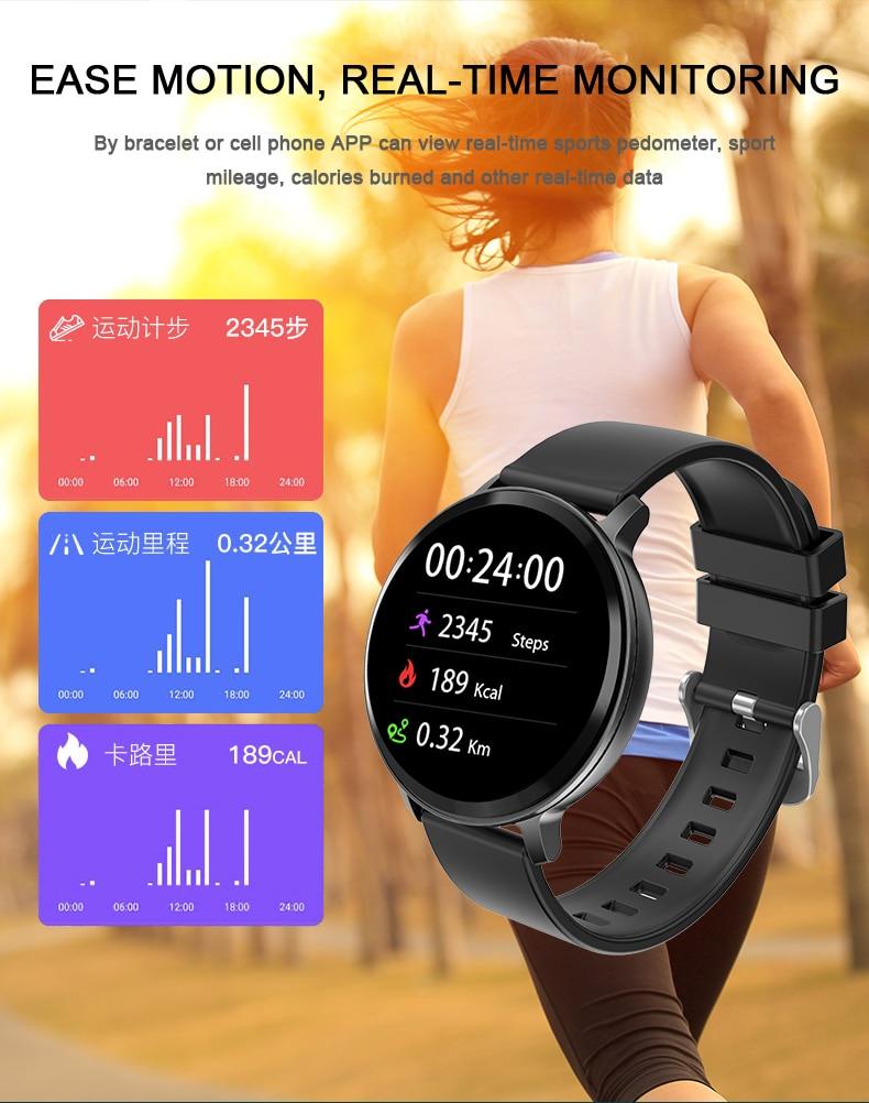Montre intelligente Android ios pour femme 8