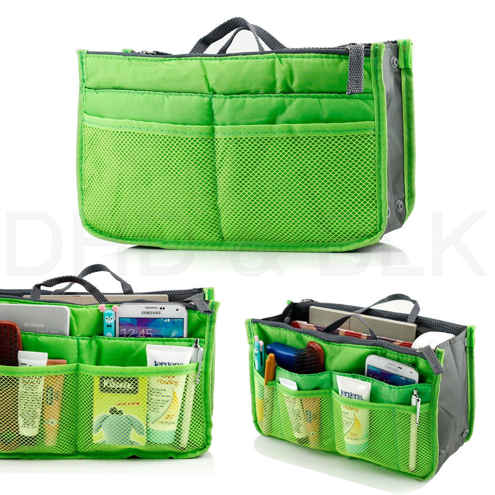 Large Storage Bag Hot Necessaire Women Purse Handbag Organizer Organiser Travel Travelling Insert Liner Cosmetic In Bags From Home Garden