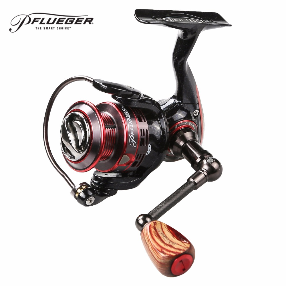 Original Pflueger President Limited Edition Spinning Fishing Reel 2000 2500 Front-Drag Fishing Reels 9+1BB Carretilha De Pesca