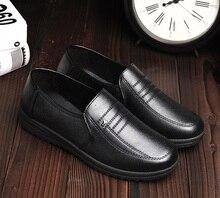 Мужская высокого качества pu кожаный черный мокасины zapatos планос мужской вскользь офис обувь мужчина прохладно весной и летом дышащая обувь