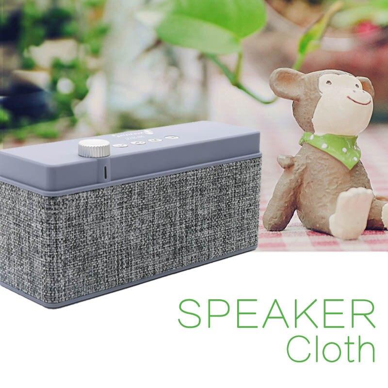 Itek Outdoor Mini Portable Fabrics Bluetooth font b Speaker b font Simple Rectangle Design Loudspeaker font