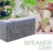 Itek Outdoor Mini Portable Fabrics Bluetooth Speaker Simple Rectangle Design Loudspeaker Speakers Handsfee Call Support FM Radio