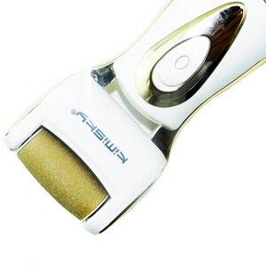 Image 5 - Роскошные электрические педикюрные инструменты для ухода за ногами, инструмент для педикюра, Вельветовая гладкая Машинка для удаления мозолей, пилка для ног на пятке