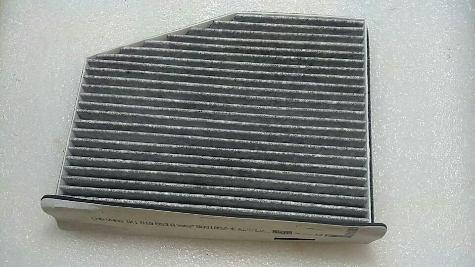 CHESHUNZAI углерода воздушный фильтр кабины для гольфа Jetta MK5 MK6 Passat B6 B7L CC Tiguan Caddy 1K1 819 653