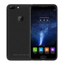 Ipro genephone G1 4 г FDD LTE Смартфон Android 7.0 5.5 дюймов 3 ГБ 32 ГБ 4 ядра разблокирована Moblie телефон двойной сзади камеры отпечатков пальцев