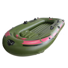 1 Set Portable Inflatable Fishing Boat High Quality PVC Rubber Boat 170x100cm 1 Person Fishing Boat with Paddles 150Kg Loading