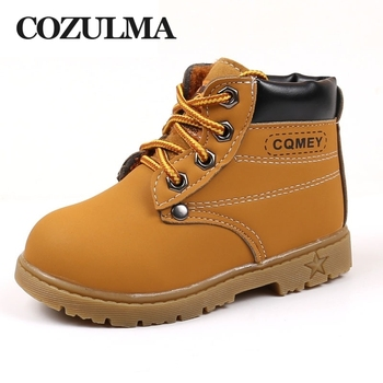 COZULMA Children Martin Boots Kids Camouflage Sneakers Shoes Boys Ankle Boots Boys Girls Snow Boots Boys Casual Shoes Size 21-30 cozulma autumn winter kids martin boots boys girls boots sneakers toddler kids snow boots child casual sneakers shoes size 21 30
