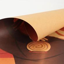Naruto Vintage Kraft Paper Poster