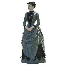 Винтажное платье в стиле южной Белль, 18 век, платья в викторианском стиле/платье Скарлетт US6-26 SC-819
