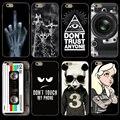 Для ZTE X3 X 3 Case Cover, цветные Живопись Case для ZTE BLADE X3, мягкий Силиконовый Чехол ДЛЯ ZTE X3 A452 452 Телефон Case Cover