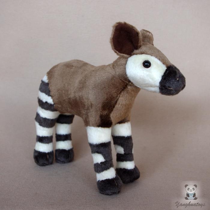 Real Life Okapi Doll Giraffe Kids Plush