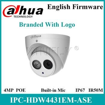 Dahua IPC-HDW4431EM-ASE 4MP IR Eyeball Network Camera Built-in Mic Upgrade IPC-HDW5231R-ZE IPC-HDW4431EM-AS With Logo
