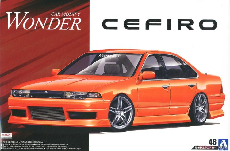 1/24 Puzzle A31cefiro 90  Miracles Assembly Car 05513