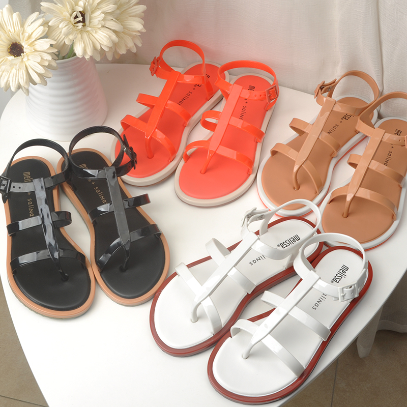 Women Sandal Summer Melissa Shoes for Women Jelly Shoes Adult Sandals Female Shoes Breathable