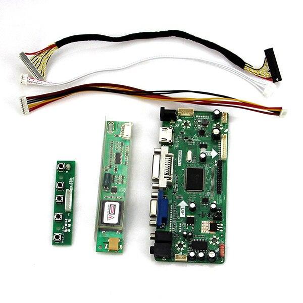 For LP171WP4(TL)(B1) LTN170X2-L02  M.NT68676 LCD/LED Controller Driver Board (HDMI+VGA+DVI+Audio) 1440*900