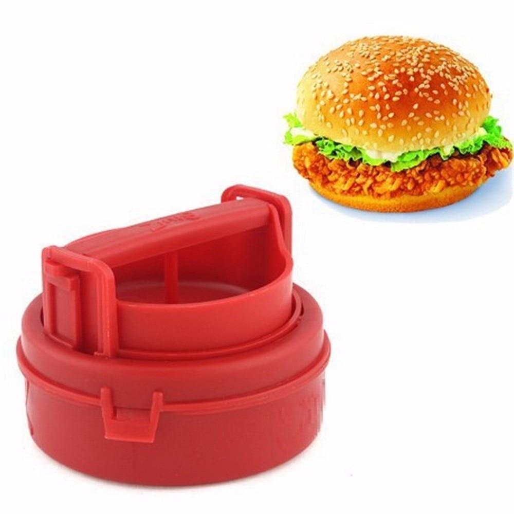 Kitchen Mould Manual Hamburger Forms Press Burger Patties Maker Press Cutlets Stuffed Hamburger Mold Grill Kitchen Tools Gadgets