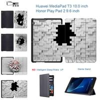 Blasting Wall Print Case For Huawei MediaPad T3 10 AGS W09 L09 T3 9 6 Smart