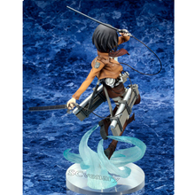 Anime Attack on Titan Ackerman PVC Action Figure Collectible Toy Attack on Titan Figure 25cm