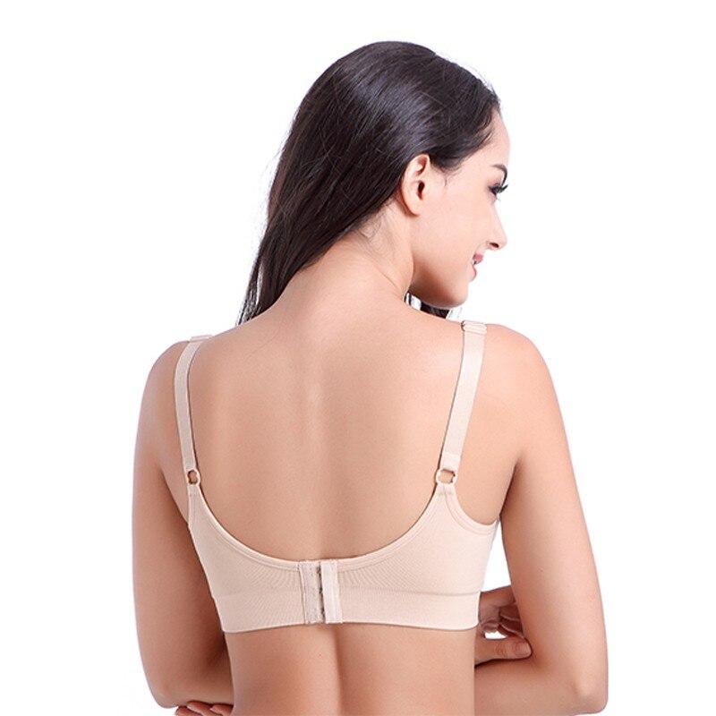 79650cac3956e THYME BreastFeeding Bras Nursing Bra Seamless Underwear Double Layer  Wireless Belt Pad Feeding For Pregnant Women-in Bras from Women s Clothing  ...