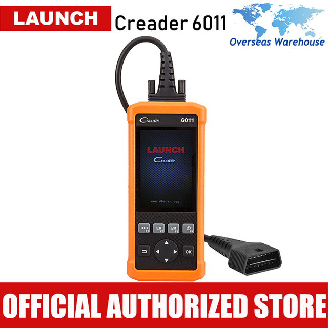 Best Price Launch CReader CR6011 OBD2 Scanner Automotive ABS SRS Autoscanner Code Reader Car Diagnostic Scan Tool OBD 2 Diagnosis Universal