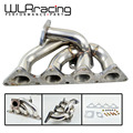 WLRING STORE- Turbo Manifold For Mitsubishi EVO 4G93 Stainless stee201 WLR3509