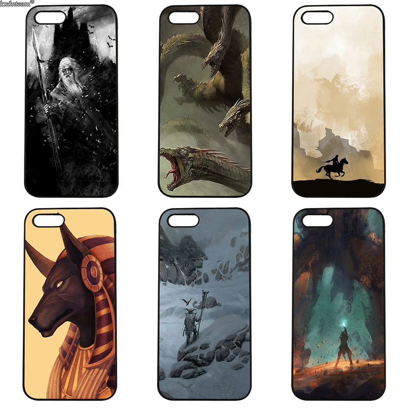 Cut Fantasy Animation Mobile Phone Cases Hard PC Plastic Cover for iphone 8 7 6 6S Plus X 5S 5C 5 SE 4 4S iPod Touch 4 5 6 Shell