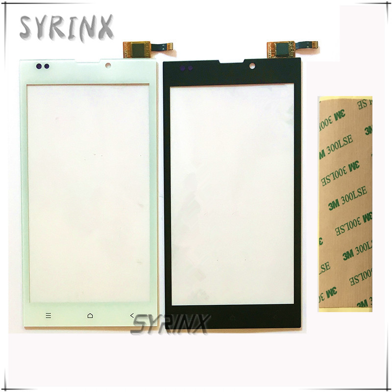 Syrinx With 3M Tape 5.0 inch Touch Screen Digitizer Front Glass Lens For DEXP Ixion EL150 EL 150 Sensor Panel Touchscreen