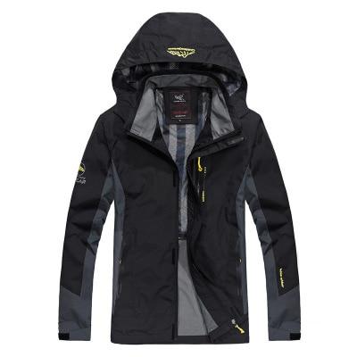 2018 Spring Top Jacket Men Thick Windproof Hood parka mens jackets and coats Windbreaker Outdoorsport Coat Jaqueta masculina