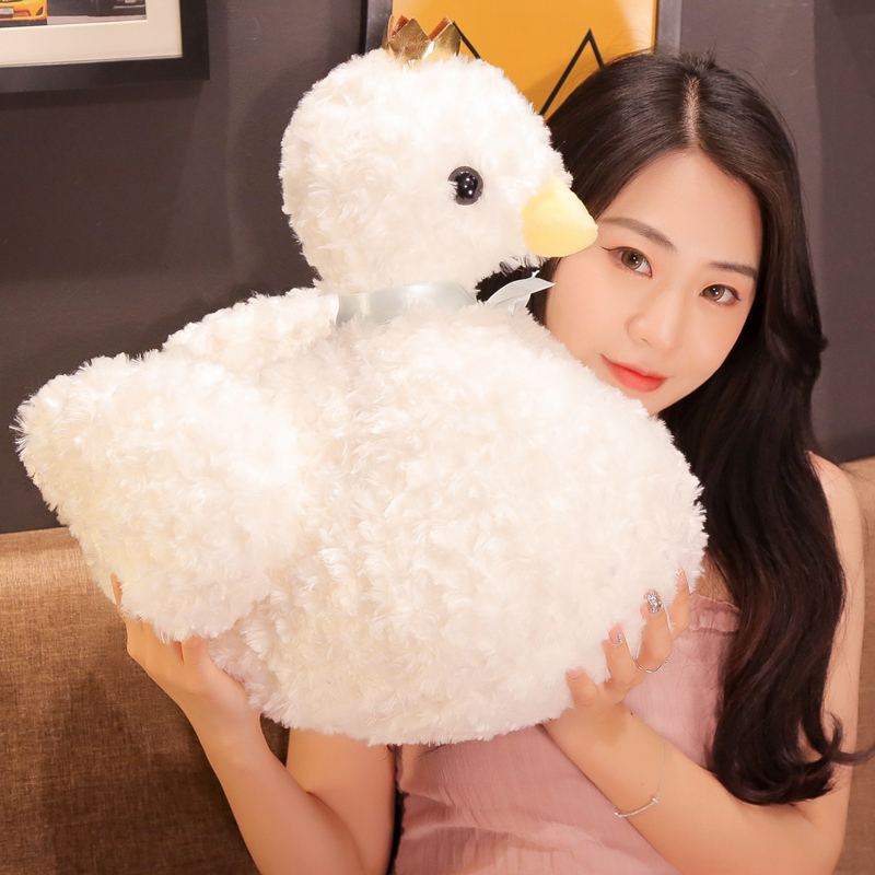 30/40cm Dreamy Crown Swan soft Toy Home Decoration Pillow Baby Appease Doll Kids Appease Toy Birthday Gift best girl toys 2017