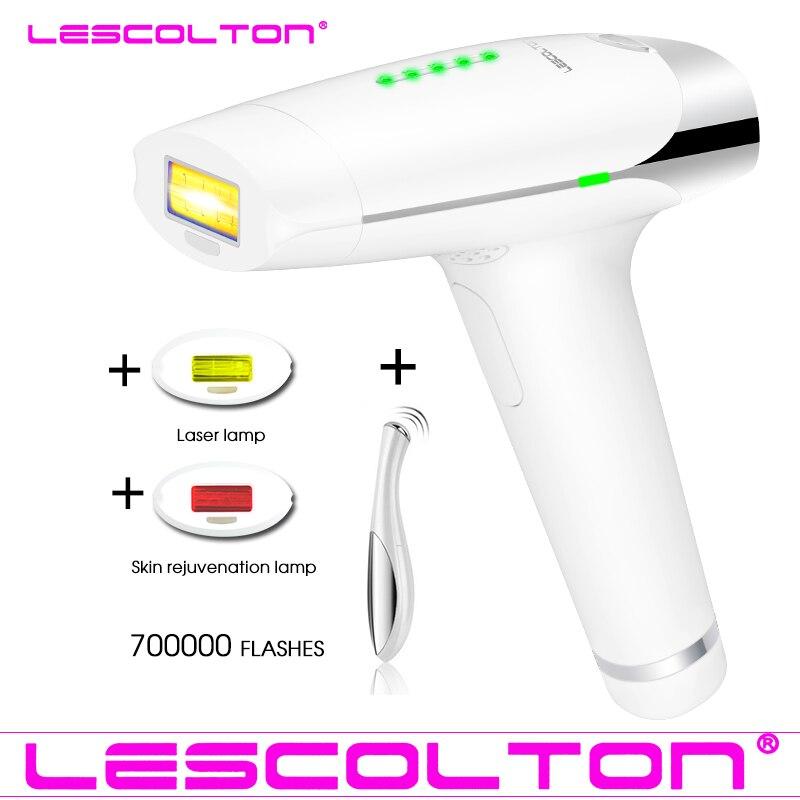 Permanent Hair Removal IPL 700000 Hair Removal Electric Laser Epilator Device Depilador Facial Hair Remover For Women Man Bikini