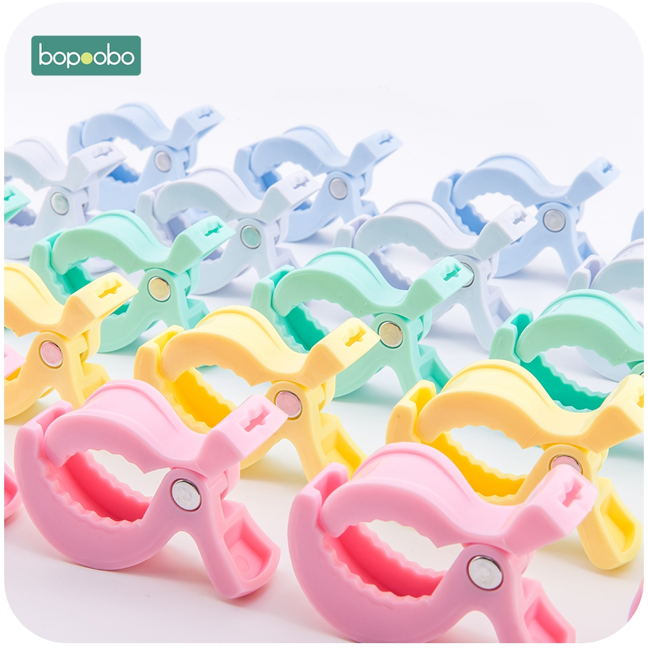 Bopoobo 6pc Baby Play Gym Accessories Colorful Car Seat Toy Lamp Pram Stroller Pegs To Hook Cover Blanket Clips Baby Teether