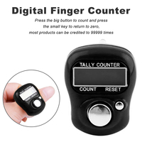 Stitch Marker row finger counter 0-99999 (5 digits)  Digital Tally Counter LCD digital manual flow counter plastic counter Counters
