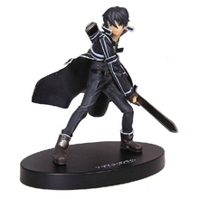 Anime Sword Art Online 16cm Kirito Action Figure PVC Model Collectible font b Toy b font